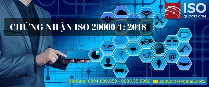 chungnhan iso20000 - Chứng Nhận ISO 20000-1 : 2018