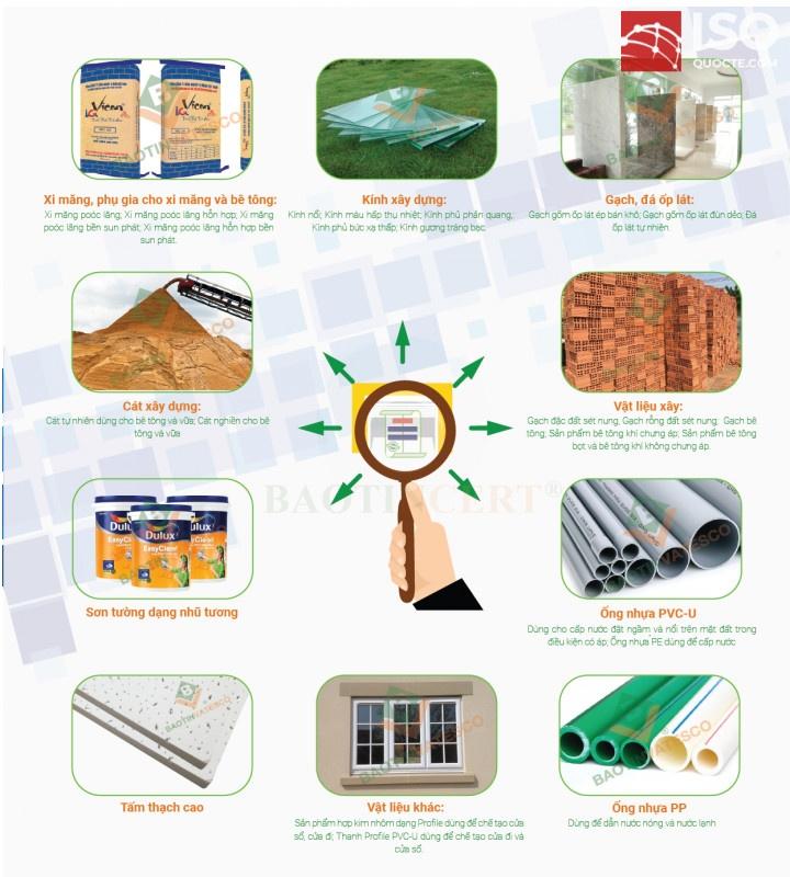 Chứng nhận hợp quy vật liệu xây dựng