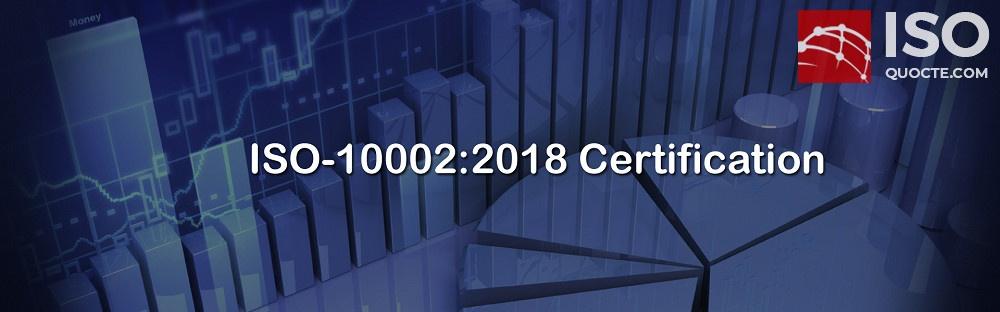 ISO 10002 - ISO 10002 HỆ THỐNG QUẢN LÝ SỰ HÀI LÒNG CỦA KHÁCH HÀNG-KHIẾU NẠI