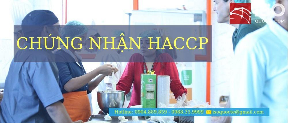 chung nhan haccp - Chứng Nhận HACCP