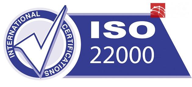 Chứng nhận ISO 22000