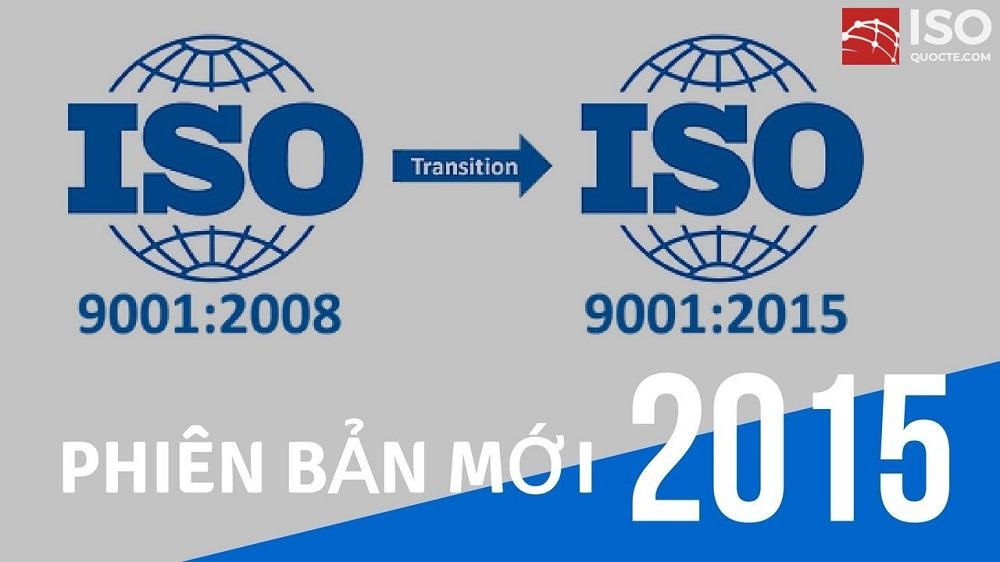 Chuyển đổi ISO 9001: 2008 sang ISO 9001: 2015