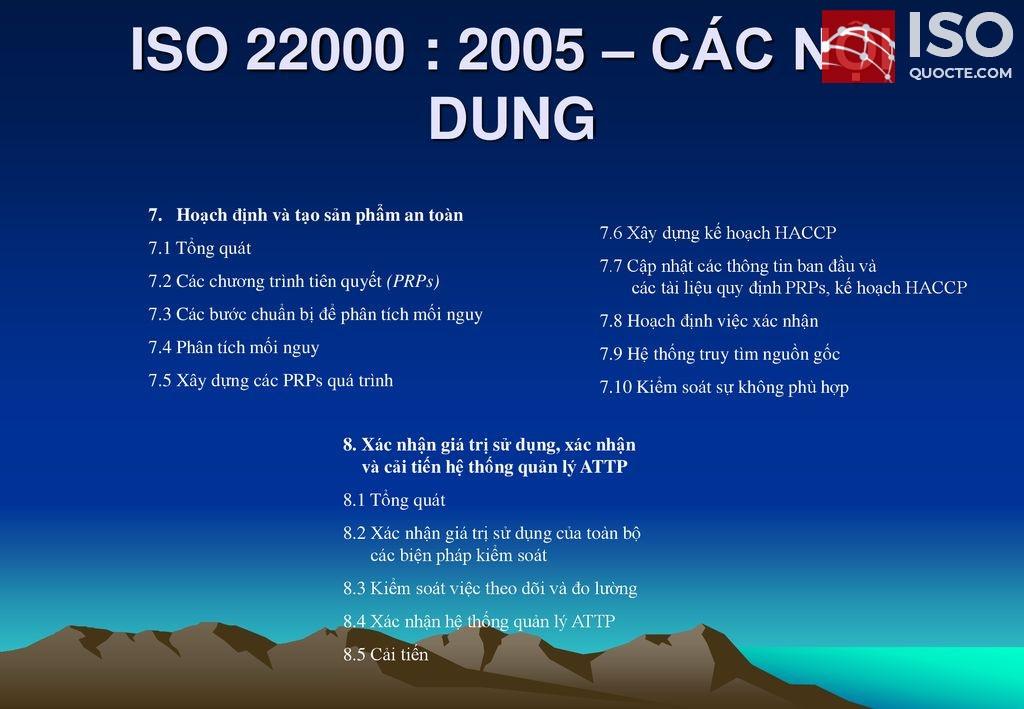 Tài liệu ISO 22000:2005