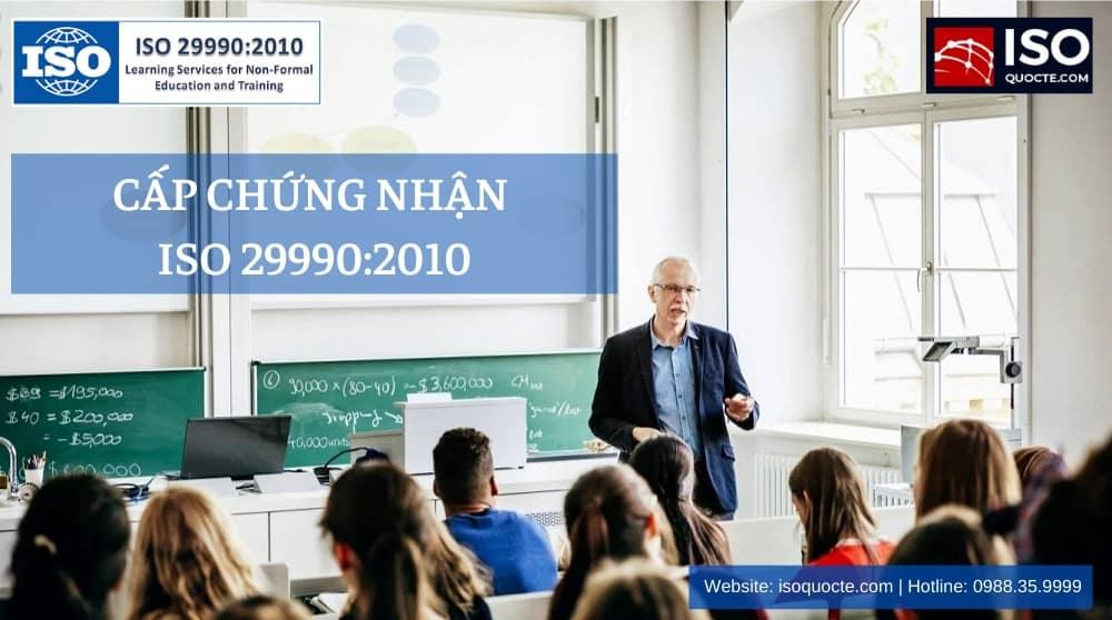 chung nhan iso 29990 - CHỨNG NHẬN ISO 29990 : 2010